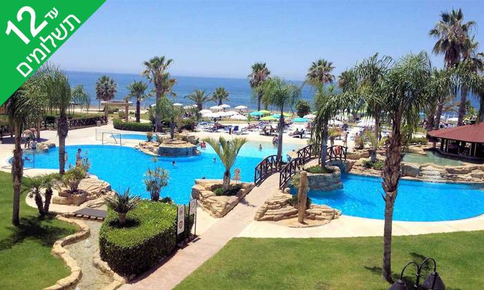 """6 פאפוס ע""""ב הכל כלול במלון Leonardo Cypris Bay עם כניסה לפארק מים"""