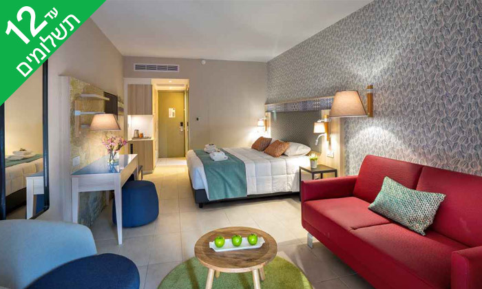 """7 פאפוס ע""""ב הכל כלול במלון Leonardo Cypris Bay עם כניסה לפארק מים"""