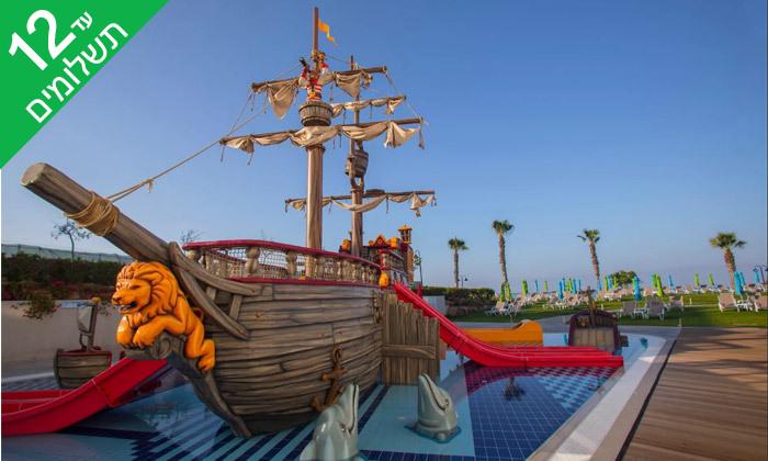 """11 פאפוס ע""""ב הכל כלול במלון Leonardo Cypris Bay עם כניסה לפארק מים"""
