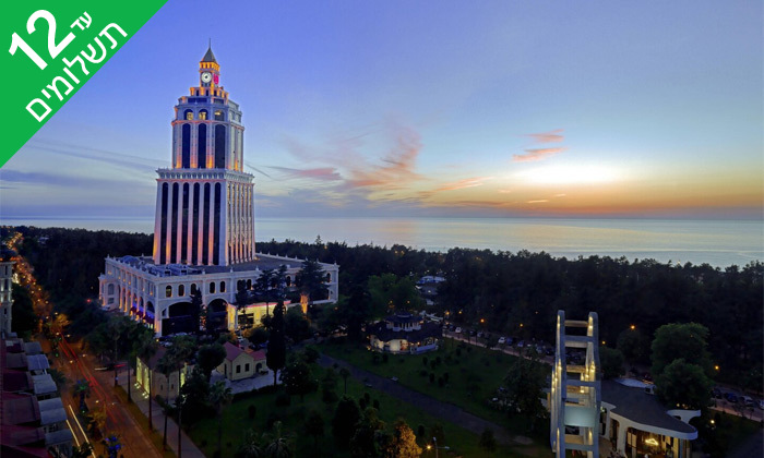 """6 3/4 לילות בבטומי: מלון 5 כוכבים מול הים, גם בסופ""""ש"""