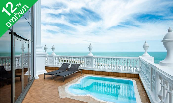 """3 3/4 לילות בבטומי: מלון 5 כוכבים מול הים, גם בסופ""""ש"""