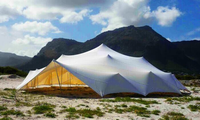 4 השכרת אוהל אירועים מבד לייקרה