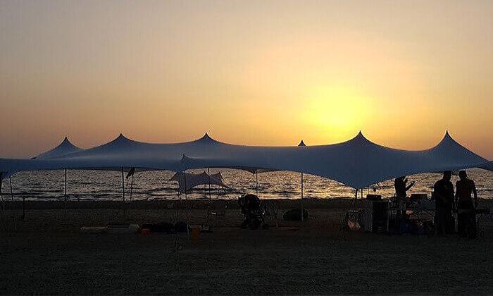 6 השכרת אוהל אירועים מבד לייקרה