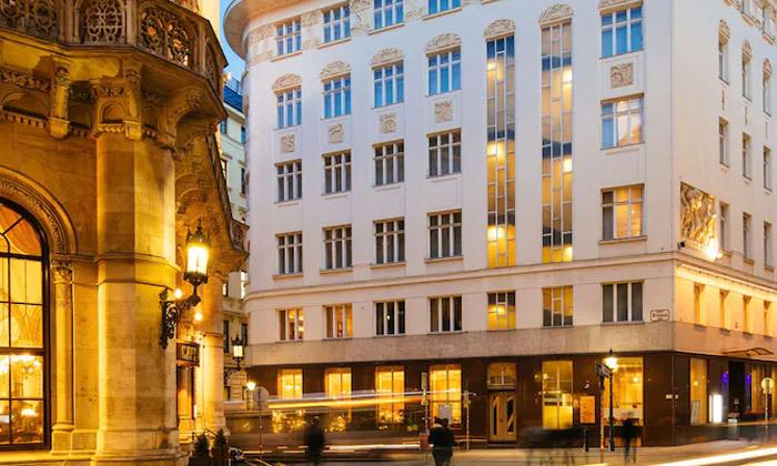 4 חופשת קיץ 4 לילות במלון בוטיק 5 כוכבים בווינה, אוסטריה
