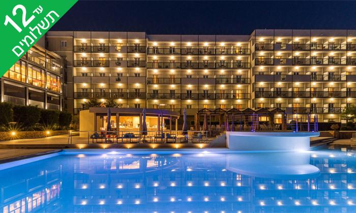 3 קיץ חלומי באי קורפו: 4 לילות במלון מרכזי עם ארוחות בוקר