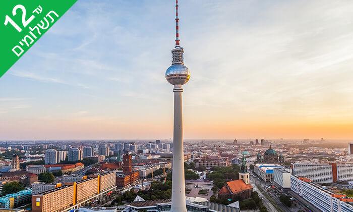 7 אנדראה בוצ'לי בברלין: 4 לילות במלון לבחירה והופעה של זמר הטנור האיטלקי