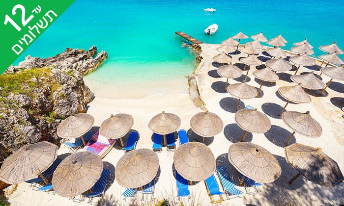 7 אלבניה 5 כוכבים - חופים, אטרקציות ומלון מפנק ביוני-אוגוסט