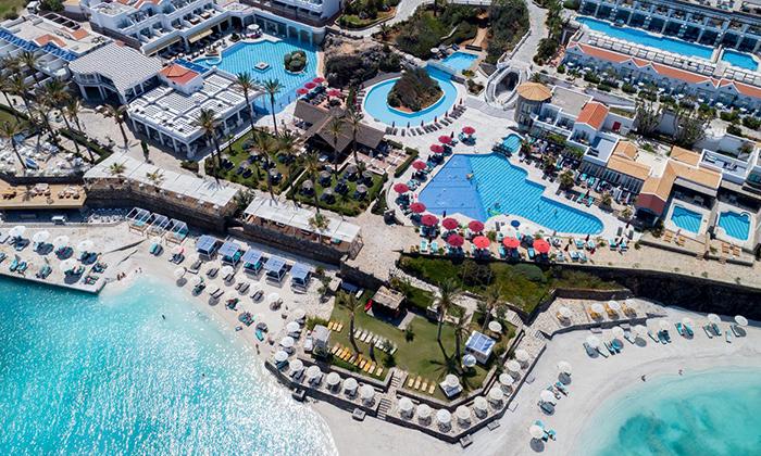 2 חופשת קיץ הכל כלול בכרתים: 4/5 לילות במלון 5 כוכבים עם חוף פרטי