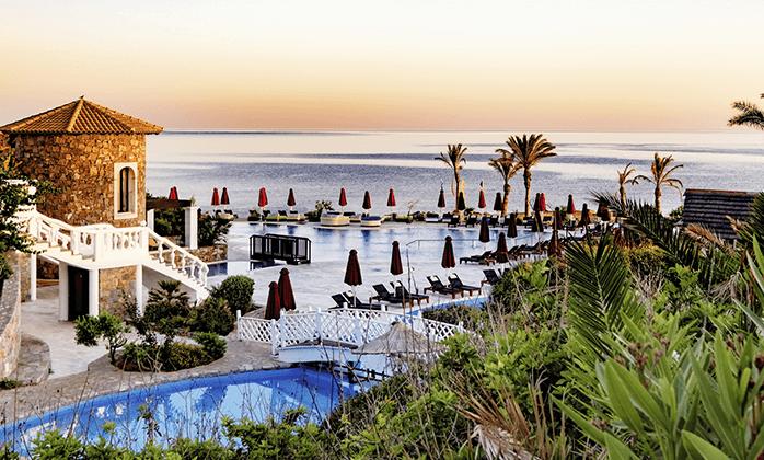 11 חופשת קיץ הכל כלול בכרתים: 4/5 לילות במלון 5 כוכבים עם חוף פרטי