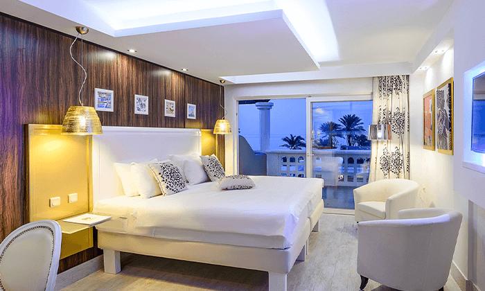 7 חופשת קיץ הכל כלול בכרתים: 4/5 לילות במלון 5 כוכבים עם חוף פרטי