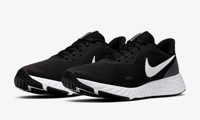 3 נעלי ריצה לגברים נייקי NIKE דגם Revolution 5 - צבעים לבחירה