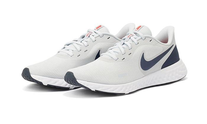 11 נעלי ריצה לגברים נייקי NIKE דגם Revolution 5 - צבעים לבחירה