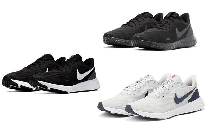 2 נעלי ריצה לגברים נייקי NIKE דגם Revolution 5 - צבעים לבחירה