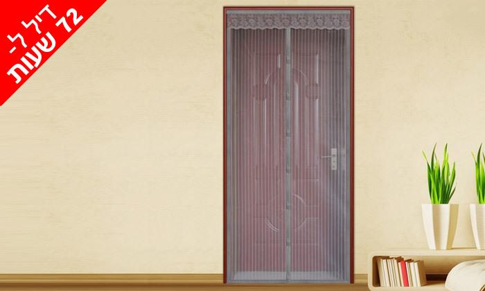 2 רשת נגד זבובים ויתושים לחלון או לדלת