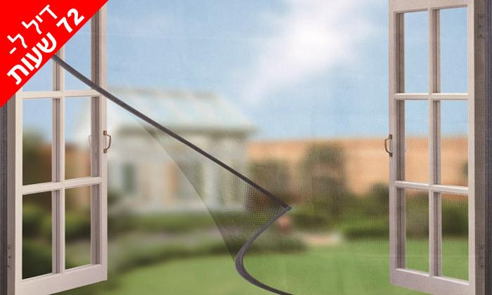 3 רשת נגד זבובים ויתושים לחלון או לדלת