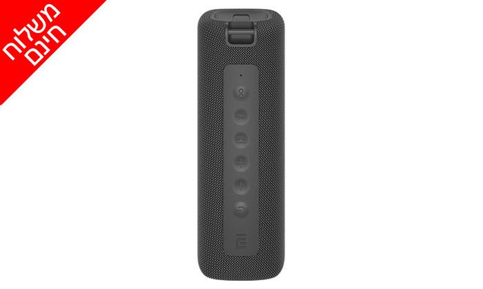 4 רמקול נייד Mi Portable Bluetooth Speaker במבחר צבעים - משלוח חינם