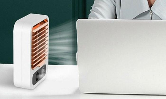 2 מיני מצנן אוויר נייד Mini Portable Cooler