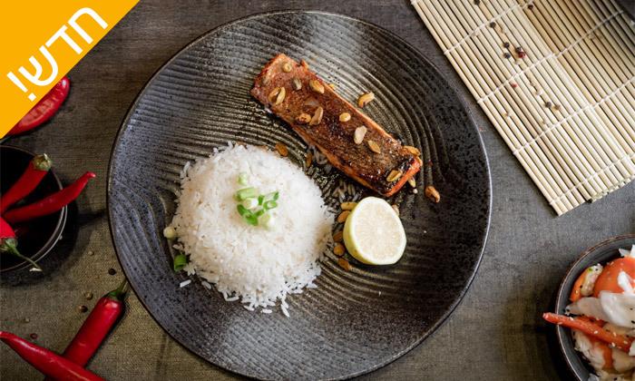 10 ארוחה זוגית כשרה בסושי גריל בר ג'ויה, מרינה אשקלון