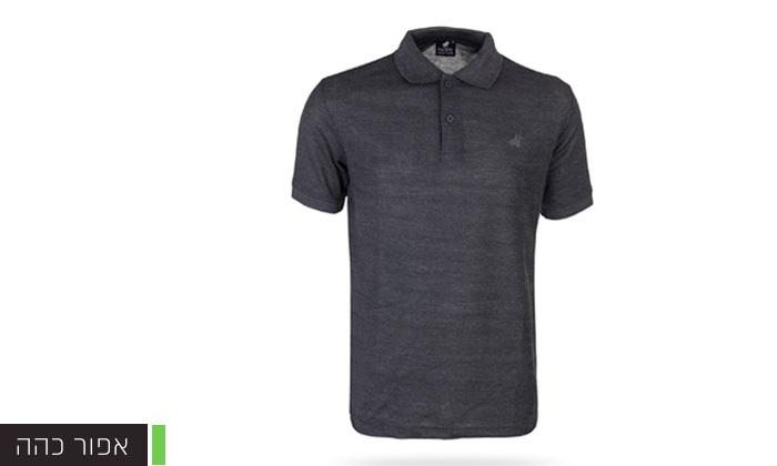 7 מארז 3 חולצות פולו שרוול קצר לגברים POLO CLUB - מידות וצבעים לבחירה