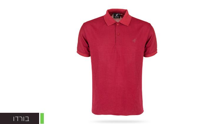 8 מארז 3 חולצות פולו שרוול קצר לגברים POLO CLUB - מידות וצבעים לבחירה