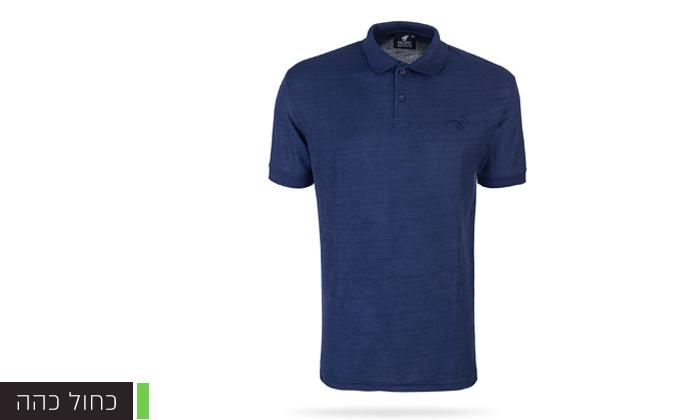 9 מארז 3 חולצות פולו שרוול קצר לגברים POLO CLUB - מידות וצבעים לבחירה