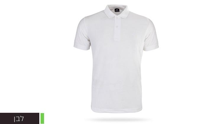 14 מארז 3 חולצות פולו שרוול קצר לגברים POLO CLUB - מידות וצבעים לבחירה