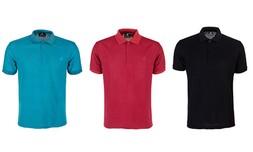 3 חולצות פולו לגברים POLO CLUB