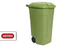 פח אשפה 110 ליטר כתר פלסטיק