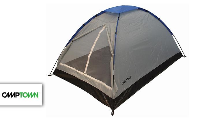 2 אוהל ל-8 אנשים CAMPTOWN