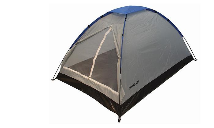 3 אוהל ל-8 אנשים CAMPTOWN