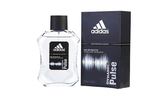 """3 מארז 4 בשמים לגבר אדידס adidas בנפח 100 מ""""ל EDT"""