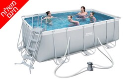 בריכת שחייה באורך 4 מטר