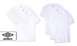 6 חולצות כותנה לגברים Umbro