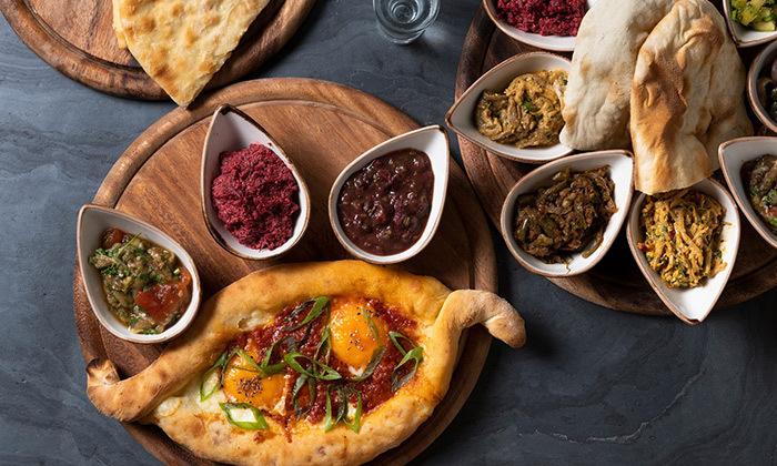 10 ארוחה גאורגית זוגית במסעדת ג'ון ג'ולי JONJOLI, הרצליה פיתוח - כשר