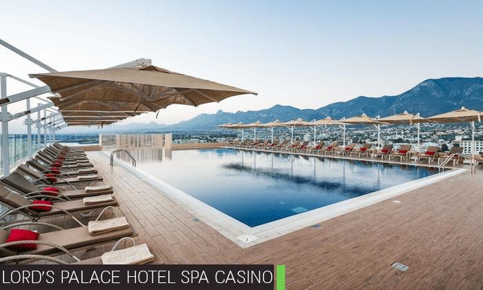 3 חופשת קיץ בקפריסין הצפונית:2-4 לילות במלון 5 כוכבים לבחירה עם קזינו