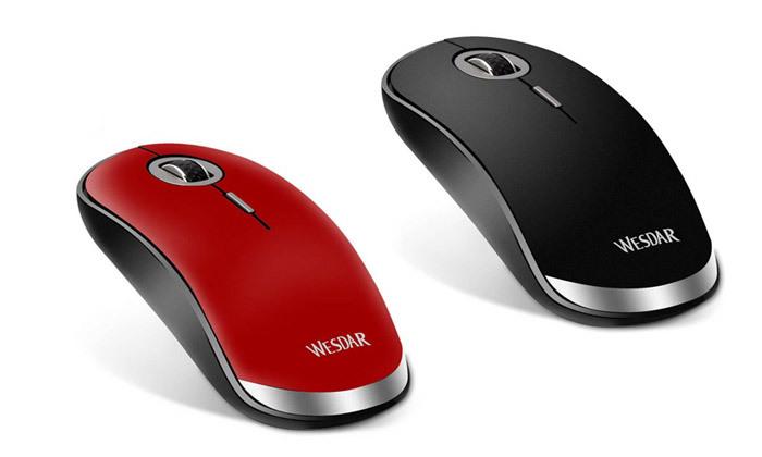 2 עכבר אלחוטי אופטי WESDAR - צבע לבחירה