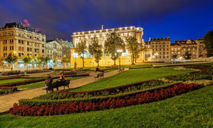 2 אוגוסט-אוקטובר בבלגרד: 3-7 לילות במלון 5 כוכבים במיקום מרכזי, גם בחגים