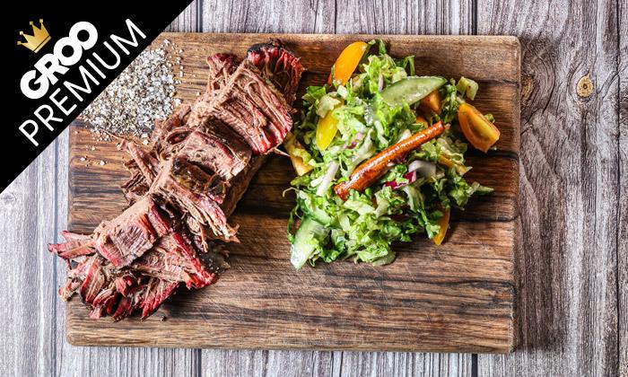 5 ארוחת בשרים וטעימות פרימיום במסעדת השף ZOKO, קריית אונו
