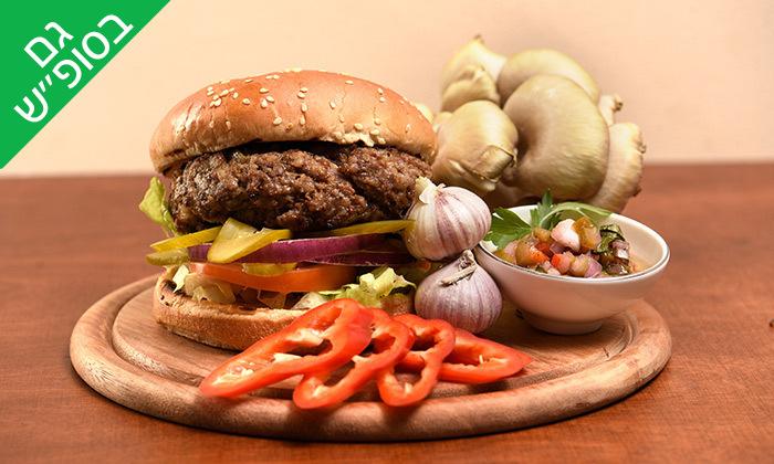 6 ארוחת המבורגר ובירה במנסי בורגר, אילת