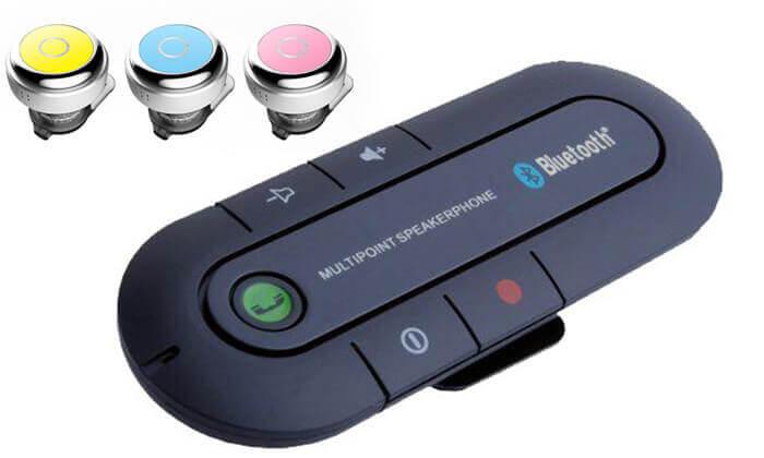 2 דיבורית Bluetooth לרכב