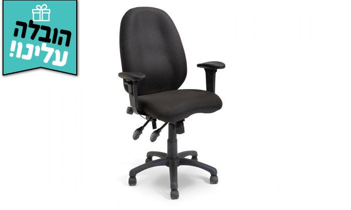 """5 ד""""ר גב: כיסא משרדי, דגם TRAFFIC - צבעים לבחירה ומשלוח חינם"""