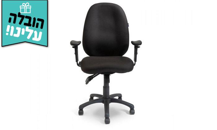 """3 ד""""ר גב: כיסא משרדי, דגם TRAFFIC - צבעים לבחירה ומשלוח חינם"""