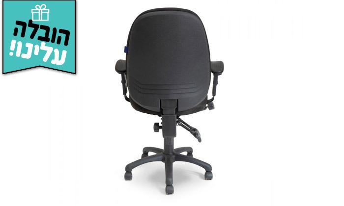 """4 ד""""ר גב: כיסא משרדי, דגם TRAFFIC - צבעים לבחירה ומשלוח חינם"""