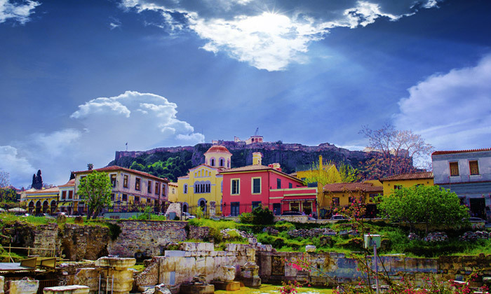 7 חופשה זוגית באתונה: 2-7 לילות במלון Dave מרשת בראון
