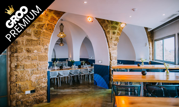 4 ארוחת שף זוגית כשרה במסעדת קיסר ים, קיסריה
