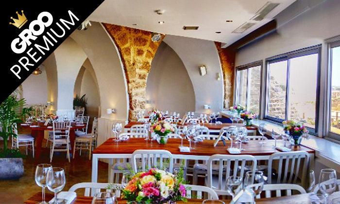 9 ארוחת שף זוגית כשרה במסעדת קיסר ים, קיסריה