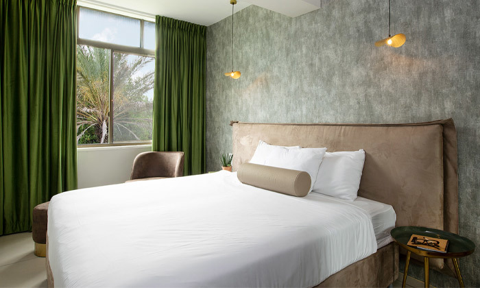 9 חופשה זוגית במלון עדן אין Eden Inn בזכרון יעקב, אופציה לעיסוי