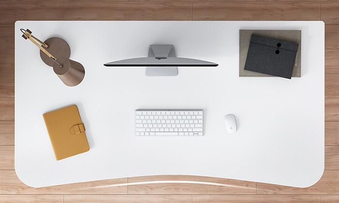 3 שולחן מחשב עם מדף ומגירות אחסון MY CASA