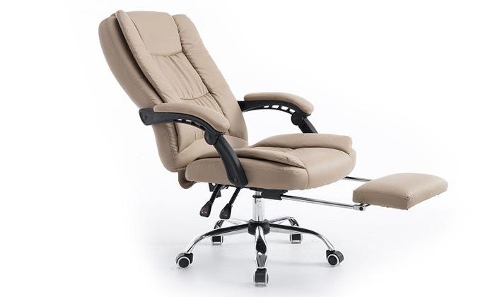 3 כיסא מנהלים עם הדום,דגם GREG - צבע לבחירה