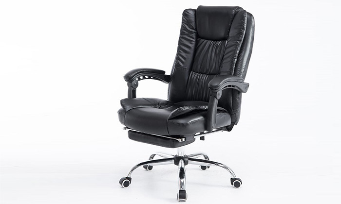 4 כיסא מנהלים עם הדום,דגם GREG - צבע לבחירה